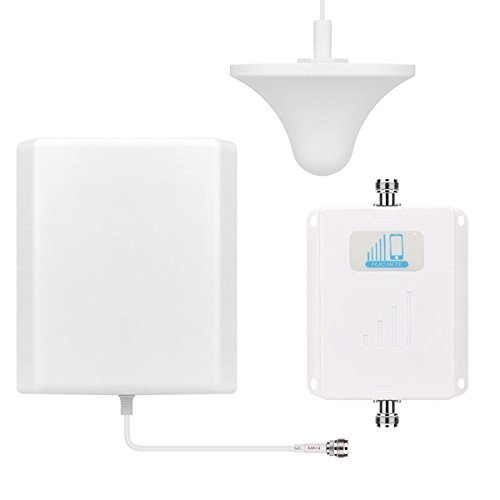 Cell Phone Signal Booster Mobile Booster HJCINTL Dual Band 850/1700MHz Cell Phone Signal Booster Amplifier for Home and Office [並行輸入品]   B07FDX8NY3