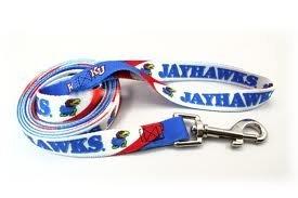 Hunter Mfg. LLP NCAA Kansas Jayhawks Pet Lead, Team Color, Large -