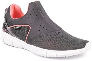 Amazon.com | Lotto Men&'s Life Slip-On Grey and Red