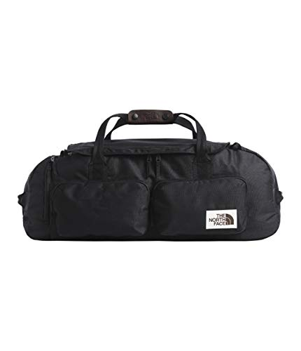 (The North Face Unisex Berkeley Duffel - Large Tnf Black Heather One Size )