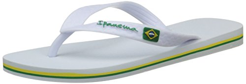 Classica Blanc White Brasil femme Tongs II Ff Ipanema 1gYqd1