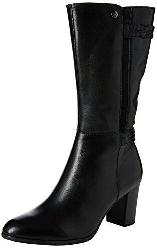 Femme Caprice Bottes Classiques black Noir 25346 19 Comb F61q6w7x