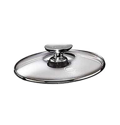 "SignoCast Glass Lid w/Stainless Knob for 13"""" Berndes Home Kitchen Furniture Decor"