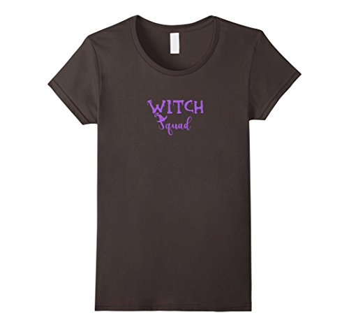Sandman Halloween Costume (Womens Witch Squad women's Halloween costume shirt XL Asphalt)