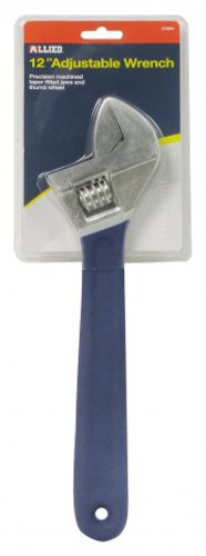 Allied Tools 80131 15-Inch Adjustable Wrench Allied International