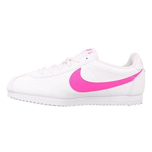 Blanc Fille gs De Sport Nike Chaussures Cortez xzAXPPY