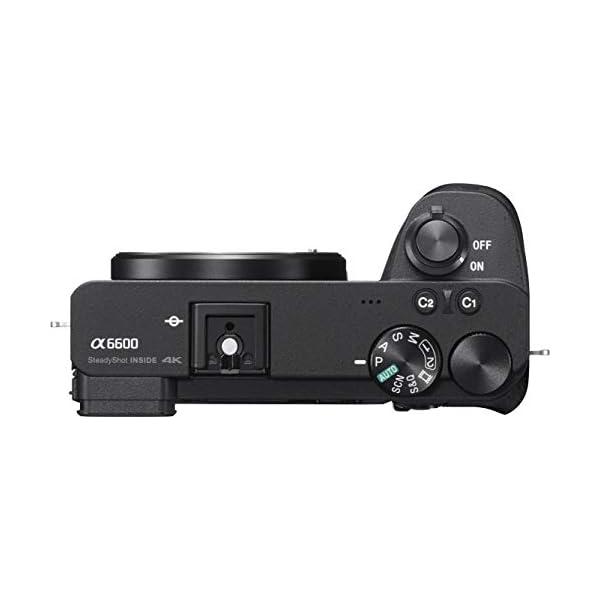 RetinaPix Sony Alpha ILCE 6600M 24.2 MP Mirrorless Digital SLR Camera with 18-135 mm Zoom Lens + SanDisk 128GB Extreme Pro SDXC UHS-I Card - C10, U3, V30, 4K UHD, SD Card