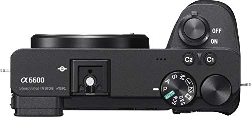 Sony Alpha ILCE 6600M 24.2 MP Mirrorless Camera with 18-135 mm Zoom Lens (APS-C Sensor, Fastest Auto Focus, Real-time… 3