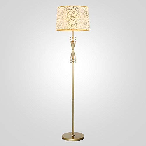 Amazon.com: MOM Long Pole Floor Lamp,Led Creative Golden ...
