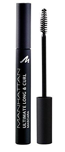Manhattan 14470 Ultimate Long & Curl Mascara, black, 1er Pack (1 x 6 ml)