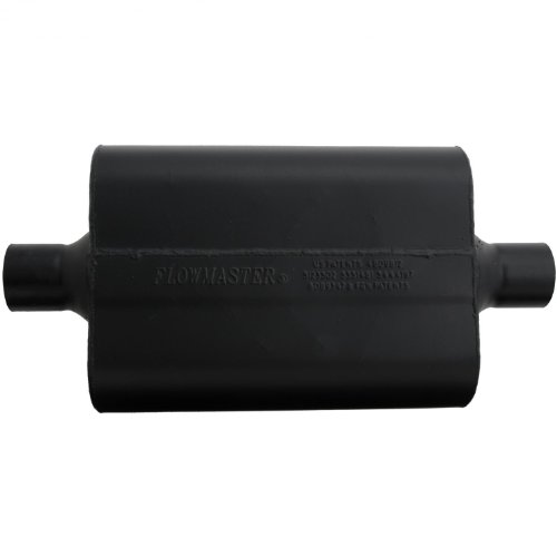 Flowmaster Super 44 Delta Flow Muffler (Flowmaster 942445 Super 44 Muffler - 2.25 Center IN / 2.25 Center OUT - Aggressive Sound)