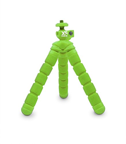 XSories BNDY1A005 Treppiede Flessibile per GoPro, Verde