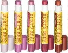 Burt's Bees Beeswax Shimmer Lip Balm in 5 Assorted Shades