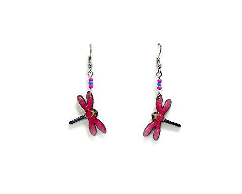 Dragonfly Dangle Earrings ()