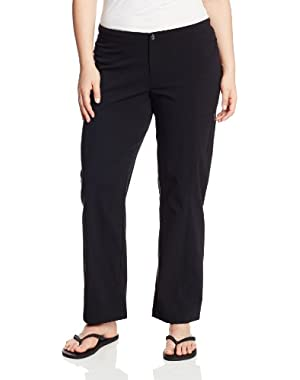 Women's Plus Size Big Just Right Straight-Leg Pant
