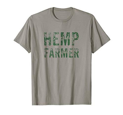 Hemp Farmer T-Shirt Farm Organic Oil Herbal Vegans Medicine