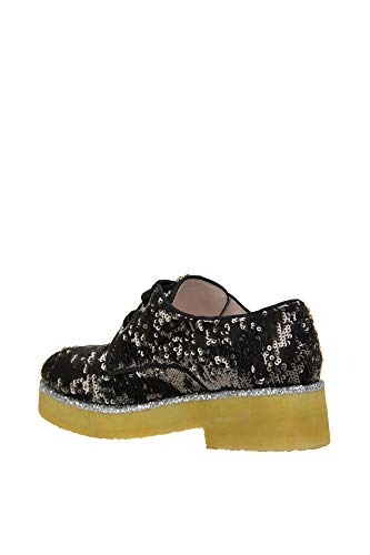 Noir Femme Tissu ALBERTO Lacets MCGLCAB000004026I À Chaussures GOZZI aHqwnt4wS