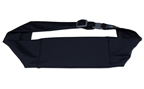 BANDI Classic Travel and Running Belt, Securely Carry Keys, Phone, Medicine, Money (Classic Belt)