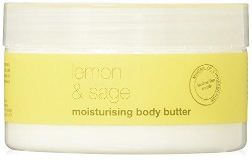 Om She Aromatherapy Lemon & Sage Body Butter 8.8oz  - Vegan