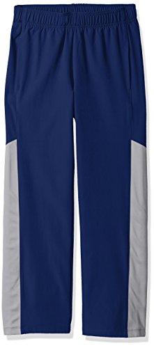 Amazon Essentials Boys' Active Pant, Navy/Grey, Small