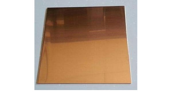 """.250 1//4/"""" Copper Sheet Plate C110 2/"""" x 8/"""""""