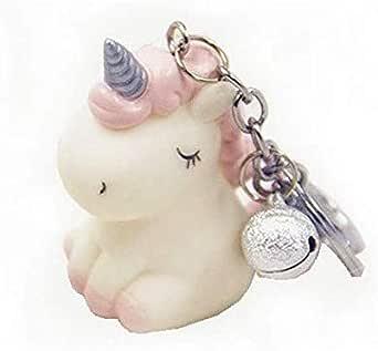 Key Ring Novelty Cute Unicorn Keychains Lovely Key Chain Pink
