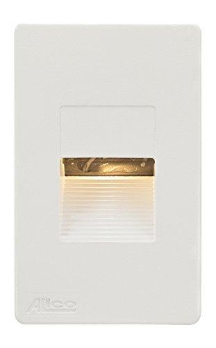 Thomas Lighting Aperture 3.3W LED Steplight with White Opal Lens, White by ELK Lighting