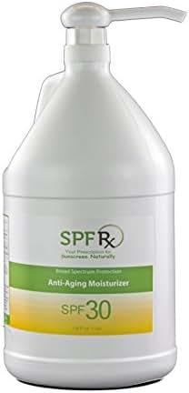 SPF Rx SPF 30 Anti-aging Sunscreen Paraben Free, 1 Gallon