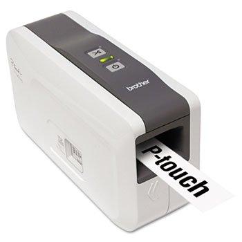 ** PT-2430 PC-Connectable Label Printer, 2 Lines, 2-3/5w x 7-2/5d x 4-2/5 (P-touch Label Maker Desktop Pc)