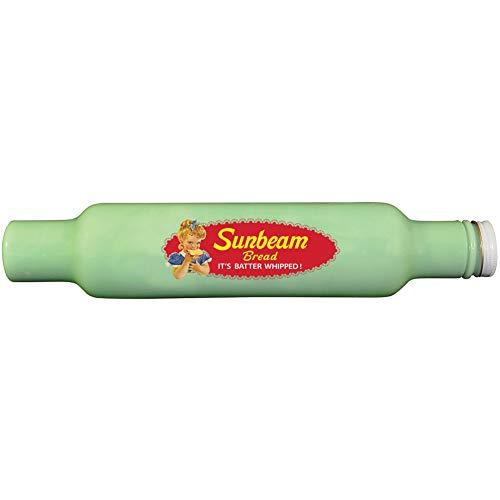 (Sunbeam Jadeite Rolling Pin - Depression-Style 14