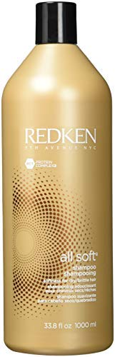 Redken All Soft Shampoo For Dry Brittle Hair 33.8 oz by REDKEN