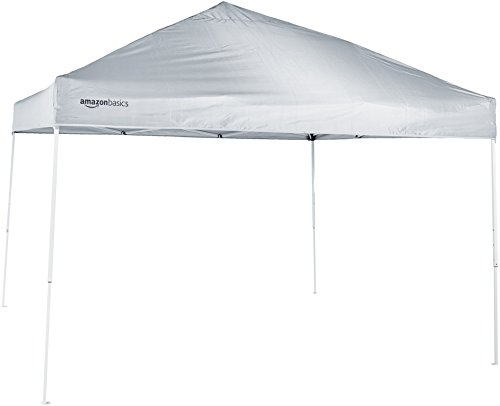 AmazonBasics Pop-Up Canopy Tent - 10' x 10', White