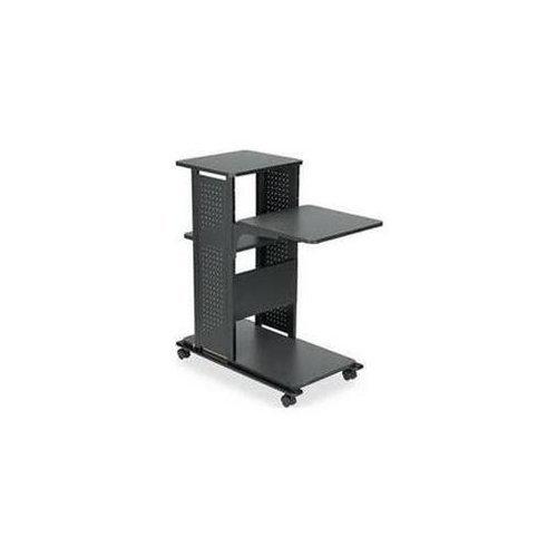 Mayline Projector Stand - Steel - Black