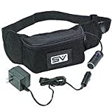 Smith Victor 12 Volt Battery in a Fanny Pack with Adjustable Waist Belt, with Charger., Outdoor Stuffs