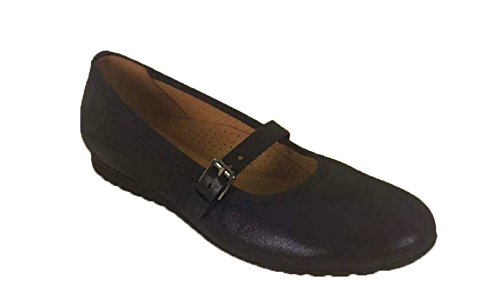 Navy Comfort Donna Gabor Ballerine Shoes wYW5aqqI