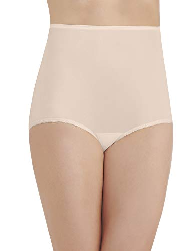 Vanity Fair Women's Perfectly Yours Ravissant Tailored Nylon Brief Panty - Size XXXX-Large / 11 - Fawn