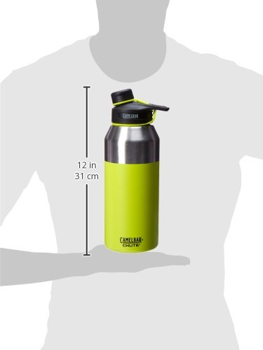 CamelBak Chute Vacuum Insulated Stainless Bottle, Lime, 40 oz