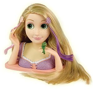 doll heads for styling hair disney tangled rapunzel styling toys amp 6156