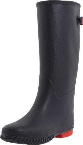 Tretorn Women's Emelie Rain Boot,Navy/Red,41 EU/10 B US
