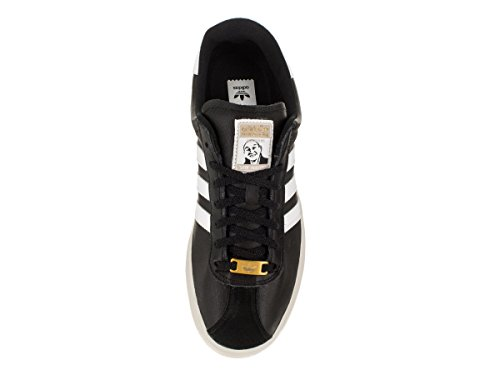Adidas Mens Skate Ryr - Pelle Phillips Originali Pattino Scarpa Core Nero / Bianco Corrente