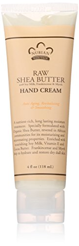 - Nubian Heritage Hand Cream, Raw Shea and Myrrh, 4 Ounce