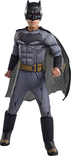 Rubie's Costume Boys Justice League Deluxe Batman Costume,