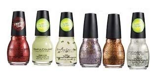 Sinful Colors Halloween Collection Six Piece Set -