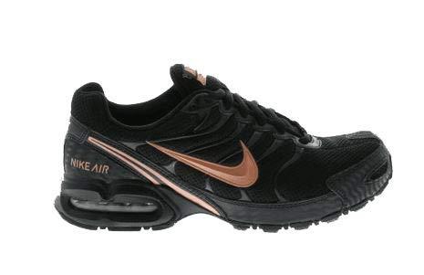 - Nike Women's Air Max Torch 4 Running Shoes (9.5 B(M) US, Black/Metallic Rose Gold)