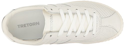 Tretorn Mujeres Camden2 Sneaker White Perforated Leather