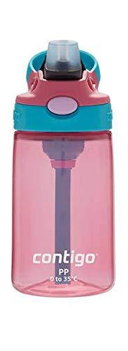 Contigo Kids Autospout Gizmo Water Bottle, 14oz (Pink)