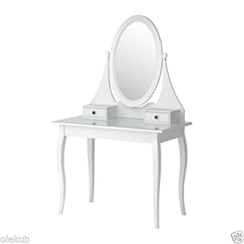 Amazing Ikea Dressing Table With Mirror, White 626.858.618