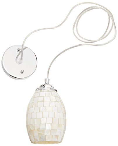 Mosaic Shell Pendant Light in US - 4