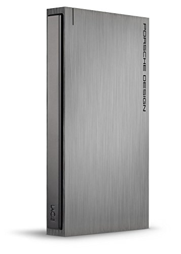 LaCie Porsche Design P'9220 1 TB USB 3.0 Portable External Hard Drive 302000 - Certified Refurbished -