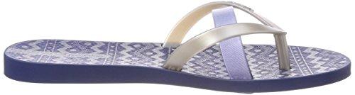 Women's Silver Ipanema Multicolour 8878 Flip Kirei Black Flops Silk III Blue Fem qvv7Cdn